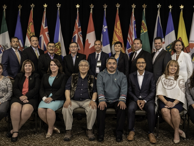 Premiere of Nunavut, Government of Nunavut Ministers and invited Guests, Minister's Mining Conference, Iqaluit, Aug 2018