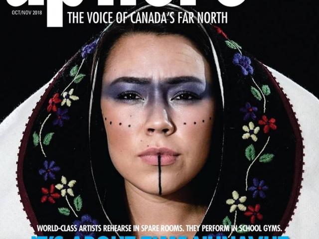 Up Here Magazine Cover Oct/Nov 2018