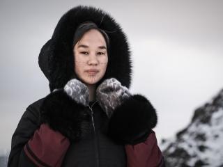 Mumilaaq Qaqqaq in Apex, Nunavut